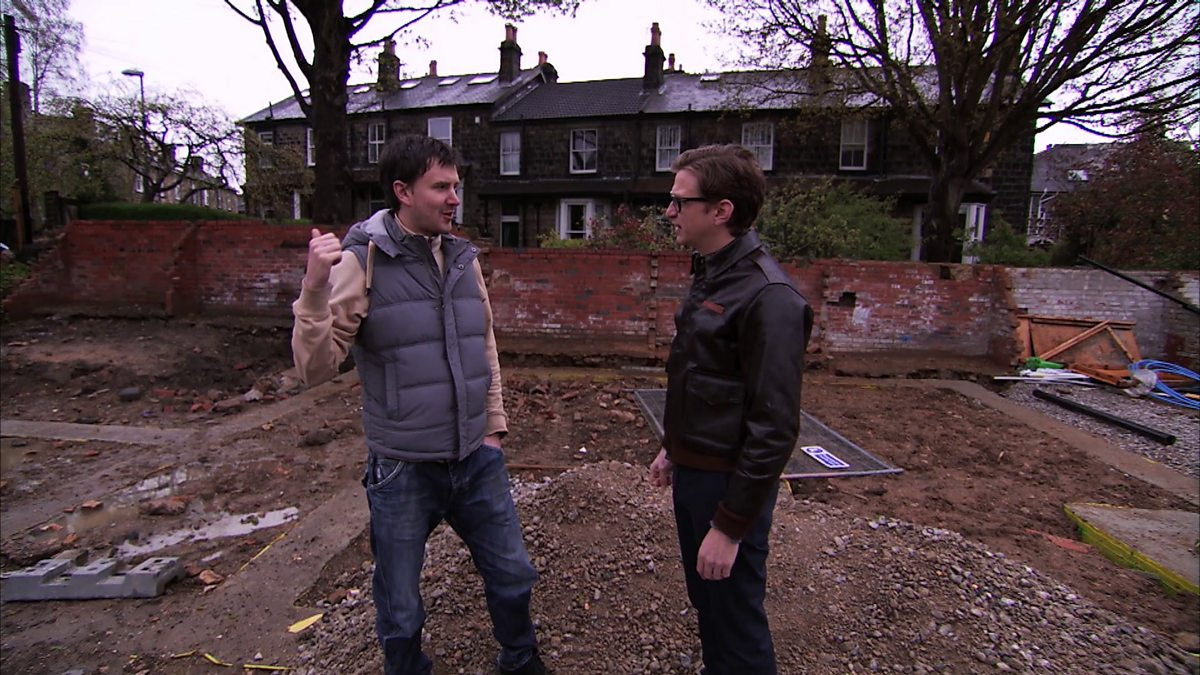 Bbc two the house that 100k built series 1 martin for Homes built for 100k