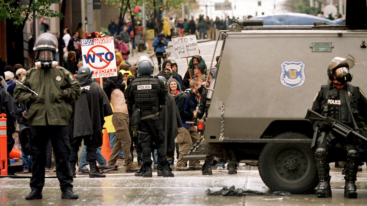 a reflection of the 1999 battle in seattle Activists arrive in seattle, washington en masse to protest a meeting of the world trade organization riots and chaos ensue as demonstrators successfully stop the wto meetings director: stuart townsend writer: stuart townsend stars: andré benjamin, jennifer carpenter, isaach de bankolé.