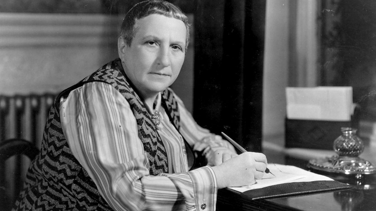 gertrude stein essay pictures Gertrude stein biography - an art lover in its true sense, gertrude stein was an american writer, poet and art collector her well known books, the tender buttons (1914), her next published work was a collection of short prose poems the arrangement of pictures and sentences reflected cubist paintings.