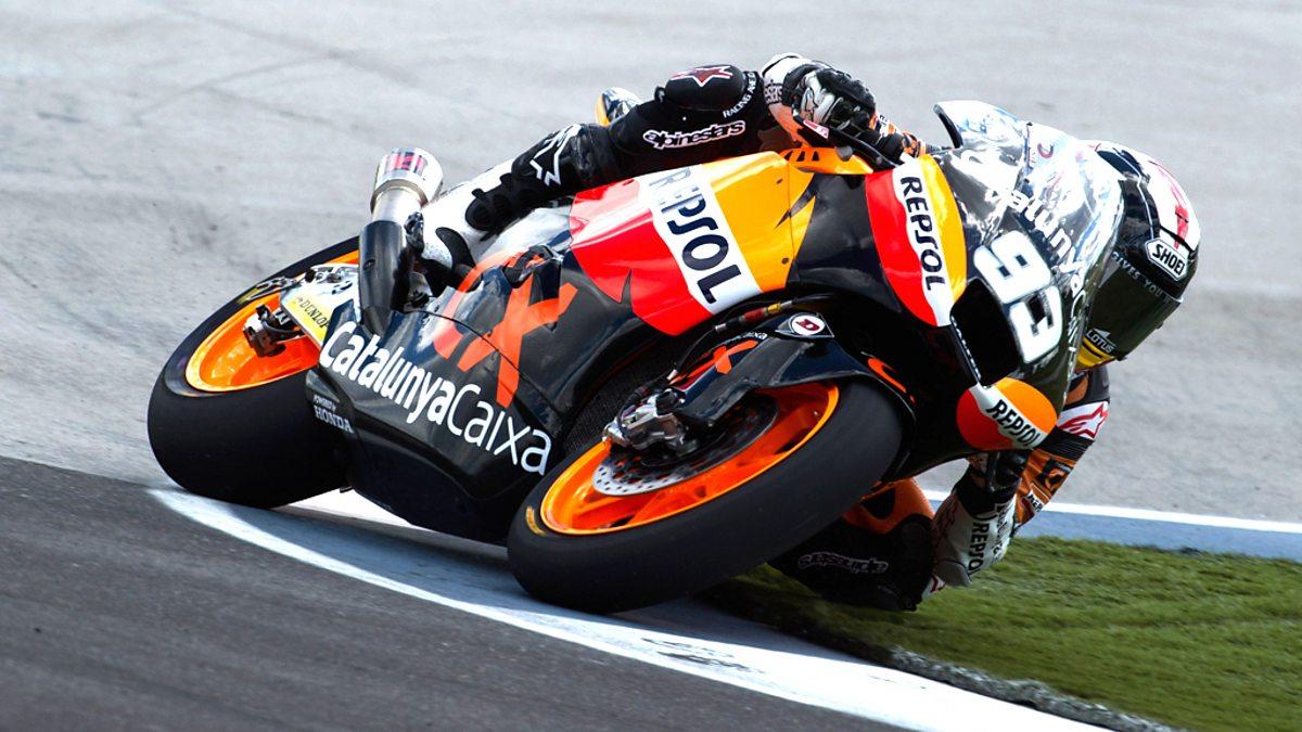 BBC Sport - MotoGP, 2012, Indianapolis - Moto2 and Moto3