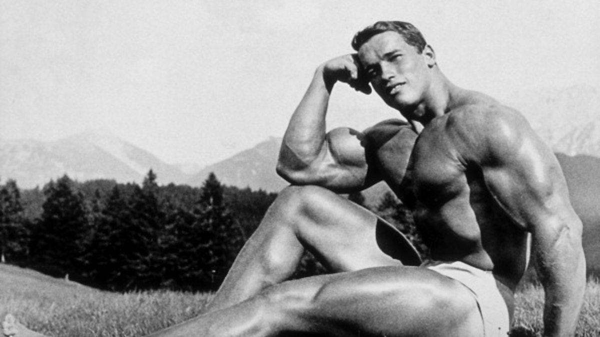 Arnold Schwarzenegger Topless Model