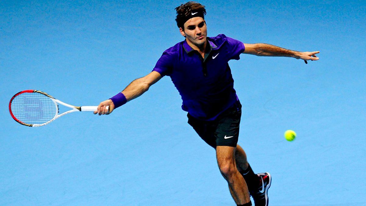 BBC Two - Tennis: World Tour Finals, 2012, Day 6: Del Potro v Federer
