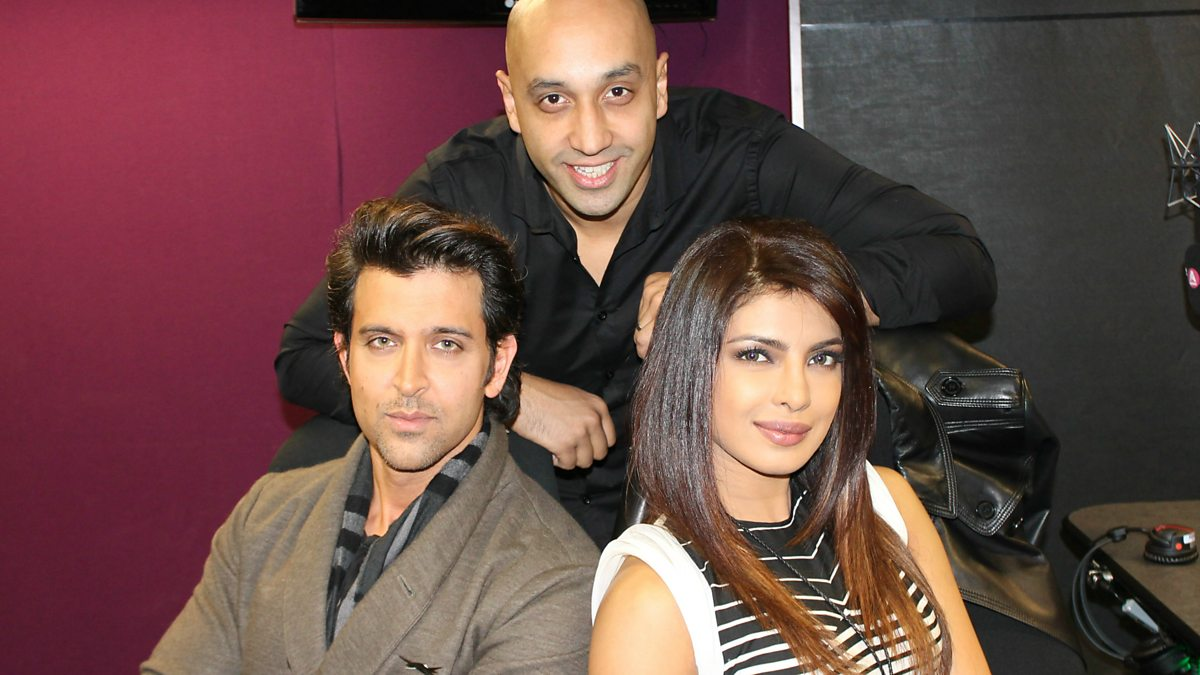 bbc asian network - hrithik roshan & priyanka chopra chat krrish 3