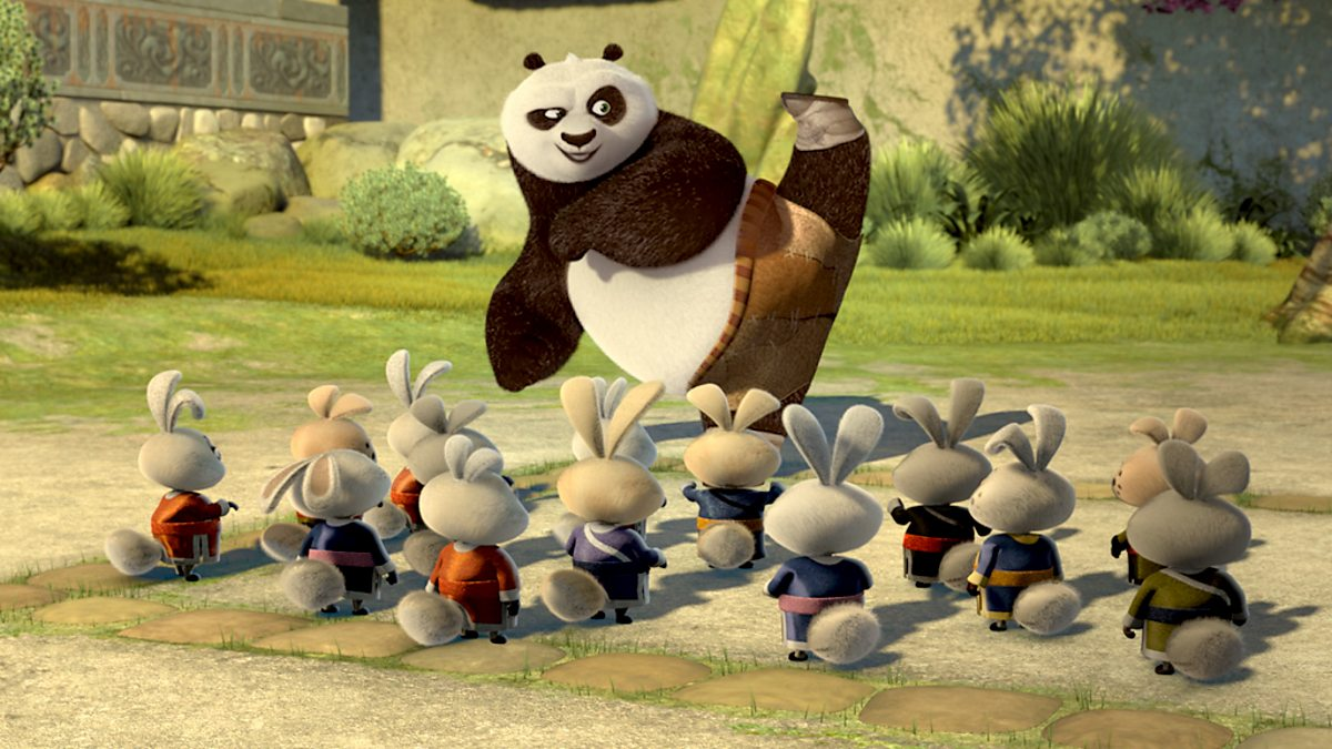 bbc cbbc kung fu panda secrets of the furious five