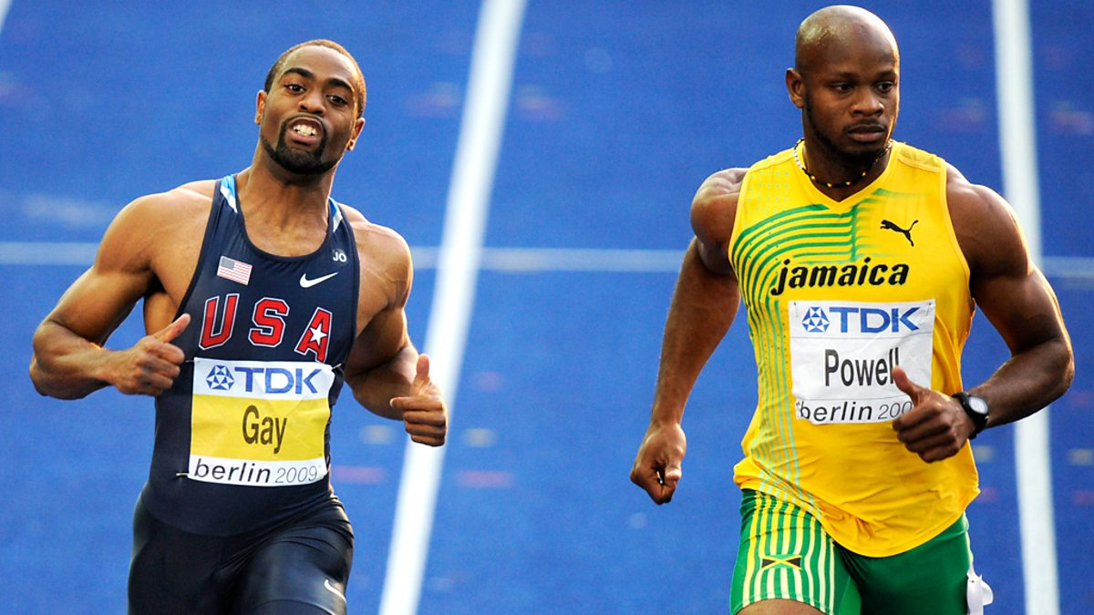 Tyson Gay Receives One