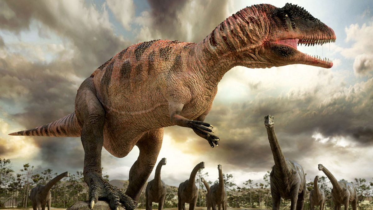bbc one planet dinosaur original series