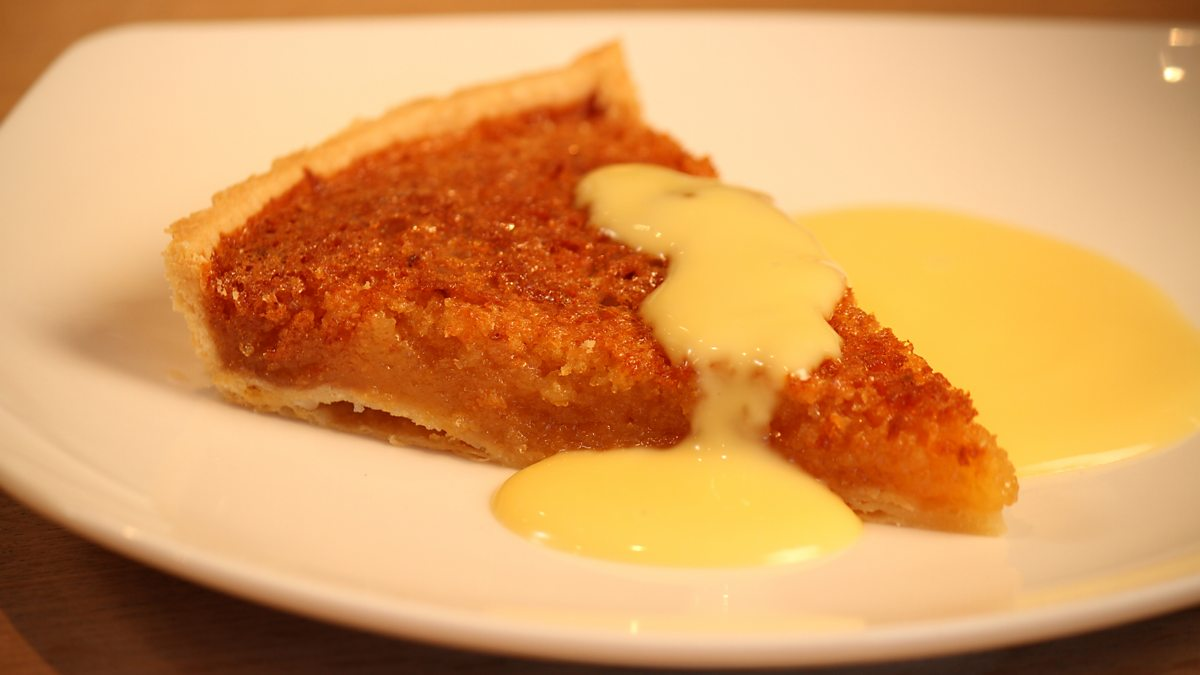 Bbc One Operation Hospital Food With James Martin Treacle Tart And Custard