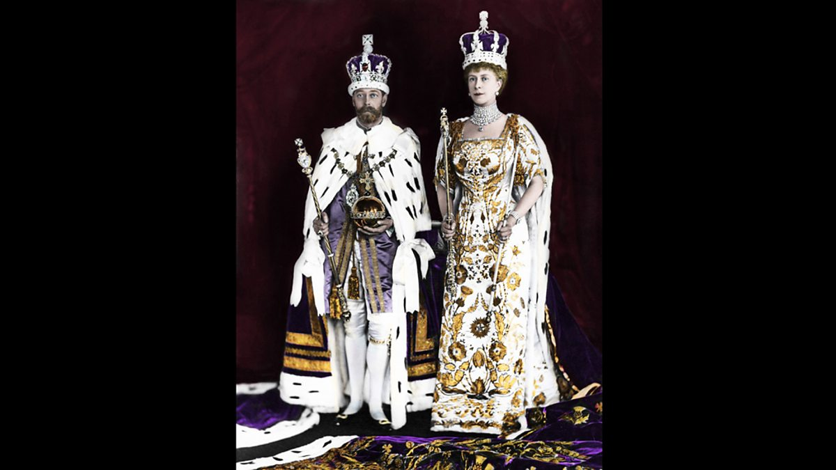 Bbc Two George V 1865 1936 With His Wife Mary Of