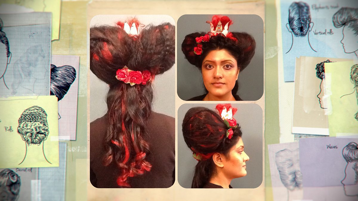 Queen Of Hearts Hairstyles: Fairytale Round