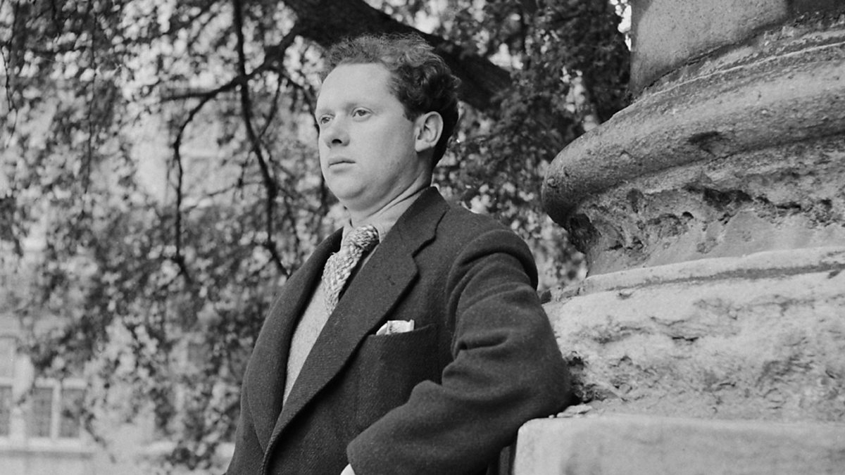dylan thomas poetry style