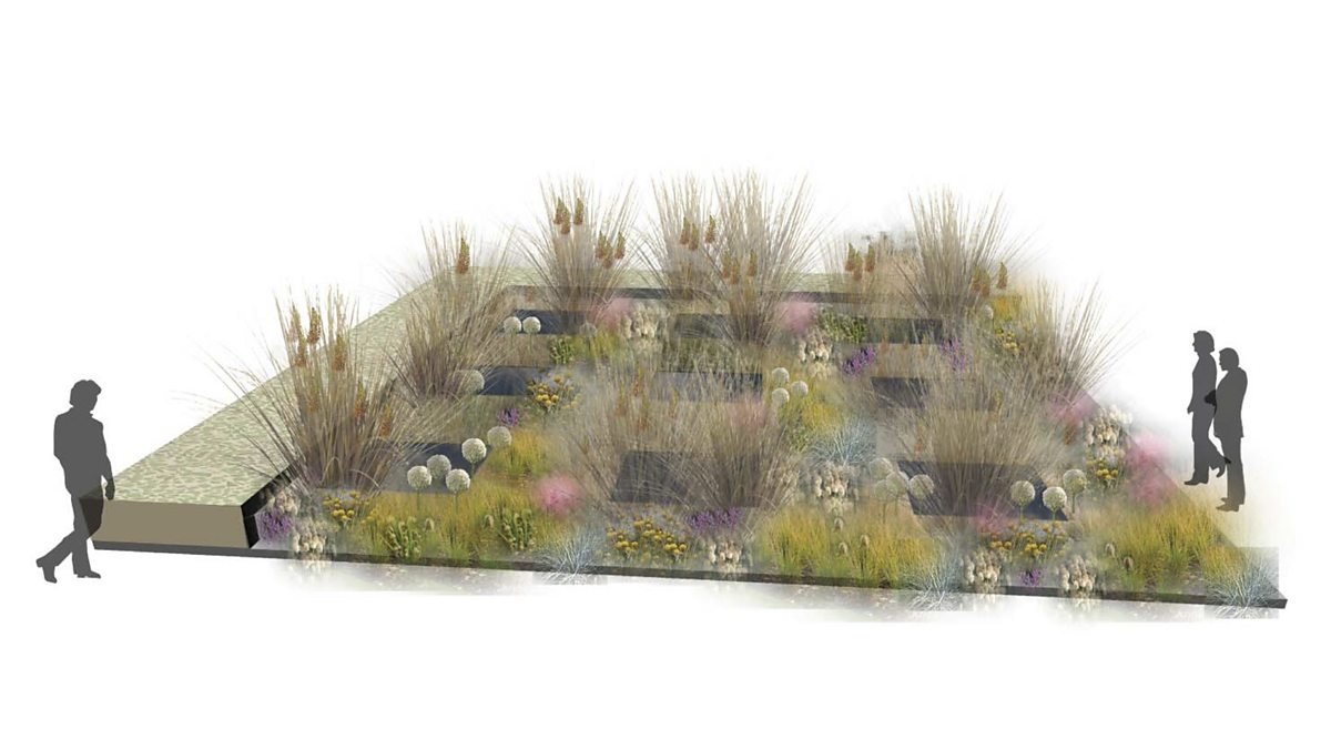 Bbc alexandra 39 s garden 3d the one show garden design for Bbc garden designs