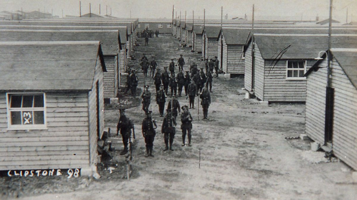 bbc world war one at home clipstone mansfield one of
