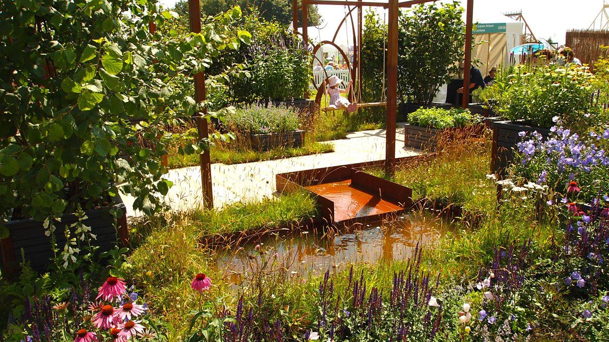 BBC Two - RHS Flower Show Tatton Park - Maggie\'s Forest Garden