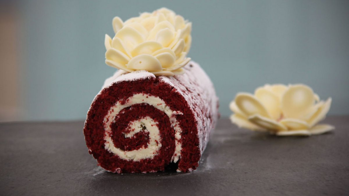 Bbc One Kate S Red Velvet Amp White Chocolate Swiss Roll