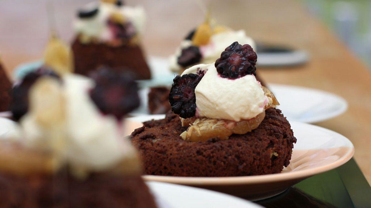 BBC One - Martha's Peanut Butter Chocolate Fondant - The ...