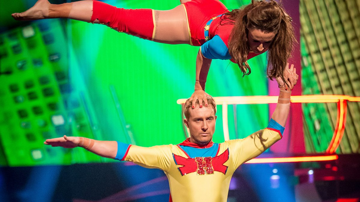BBC One - Tumble, Episode 6, Ian 'H' Watkins' Trapeze ...
