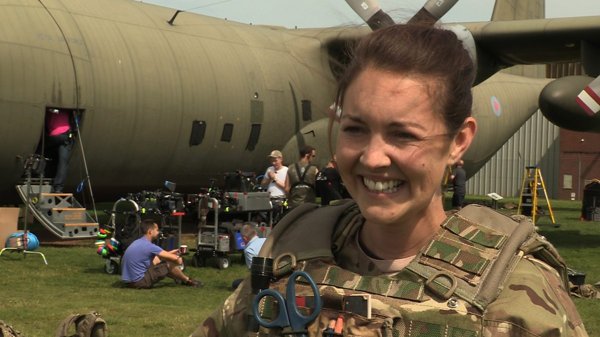 Bbc One Our Girl Lacey Turner Talks About The New
