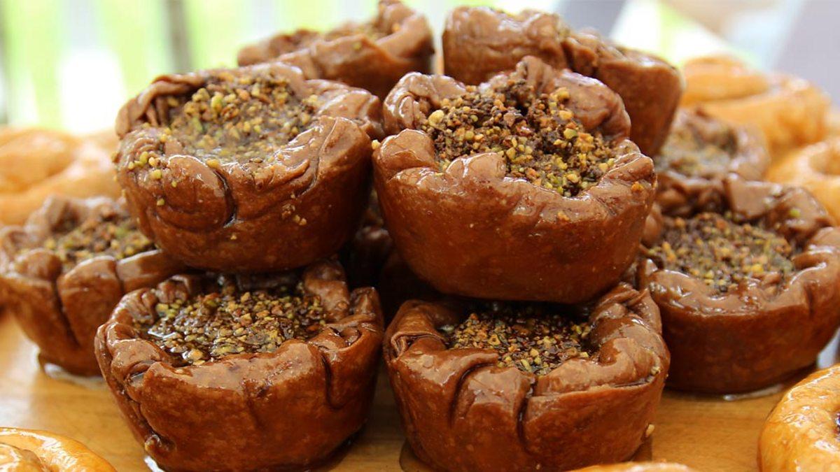 BBC One - Chetna's Chocolate Orange Baklava - The Great ...