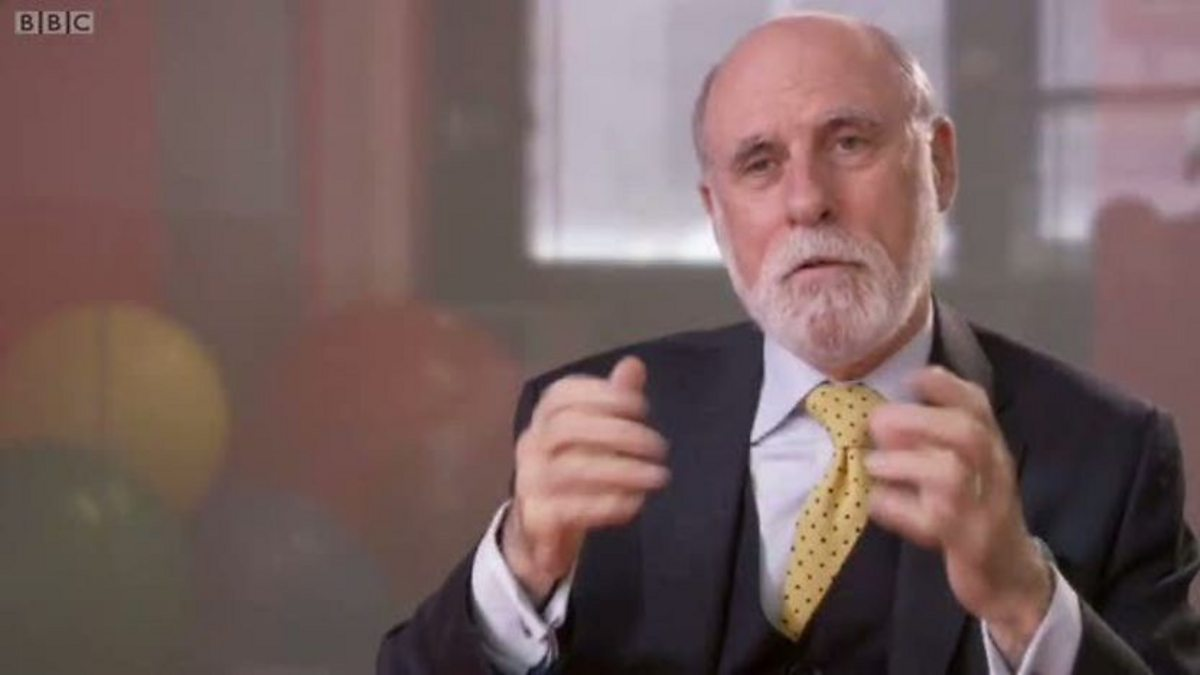 what is a hero vint cerf essay Narrative of the internet and related networks by vint cerf an overview of the philosophy and history of the internet, by gregory r gromov.