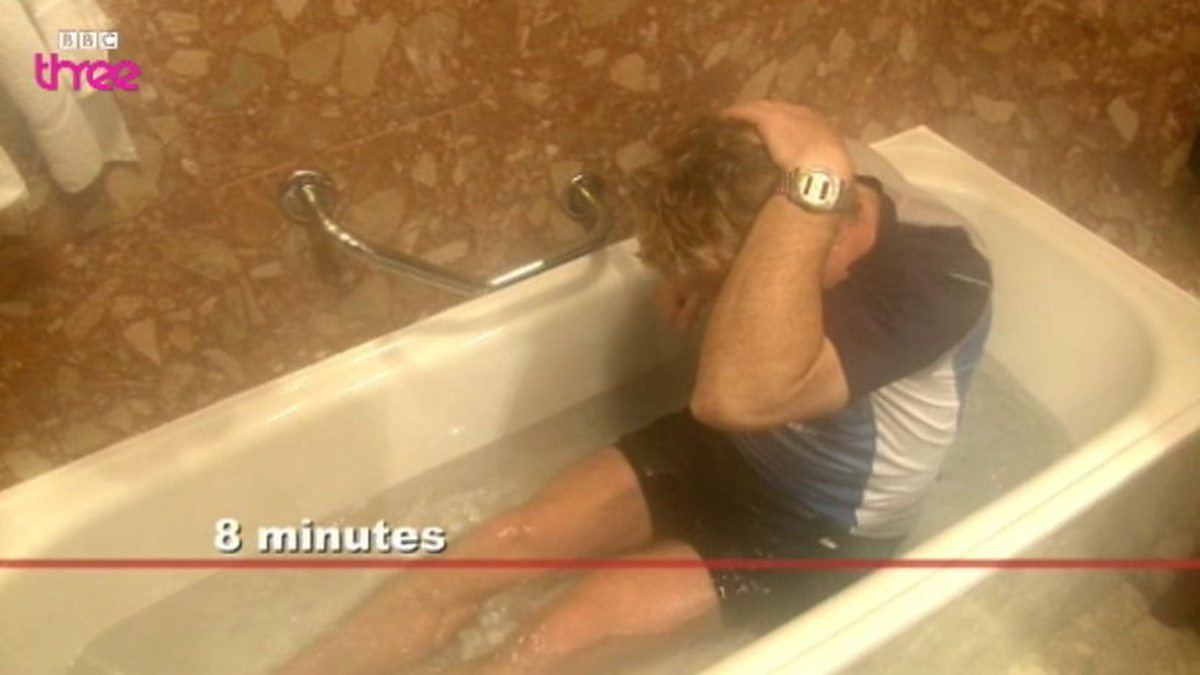 Bbc Three Eddie Izzard Marathon Man Episode 3 Ice Bath