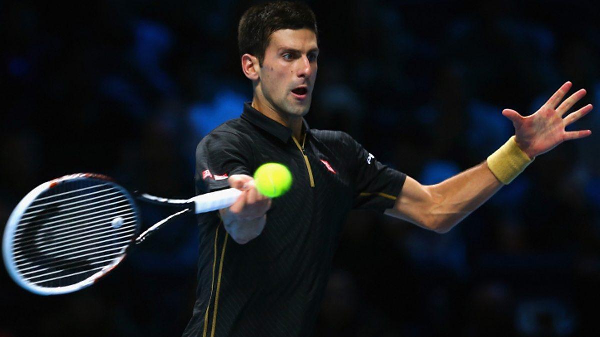 BBC Two - Tennis: World Tour Finals, 2014, Day 7: Semi-Final: Djokovic v Nishikori