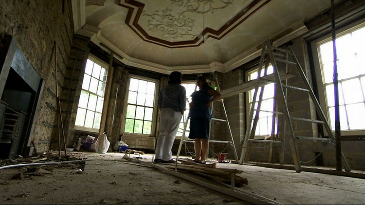 Bbc two restoration home series 1 stoke the for Restoration house