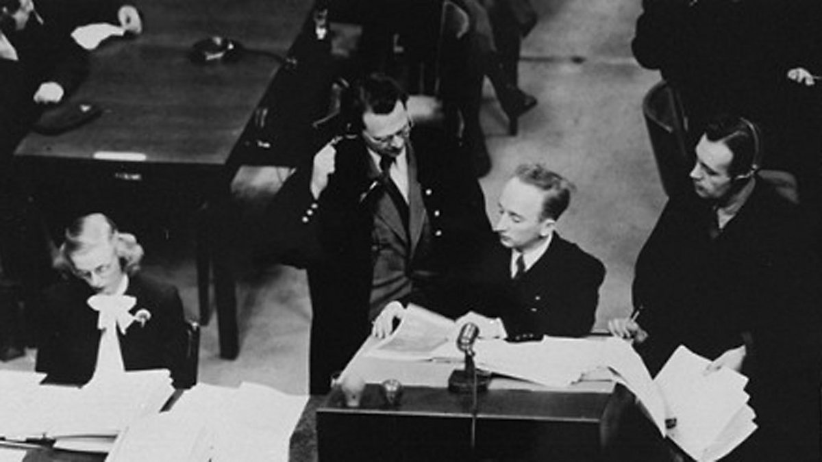 bbc world service witness the nuremberg trials