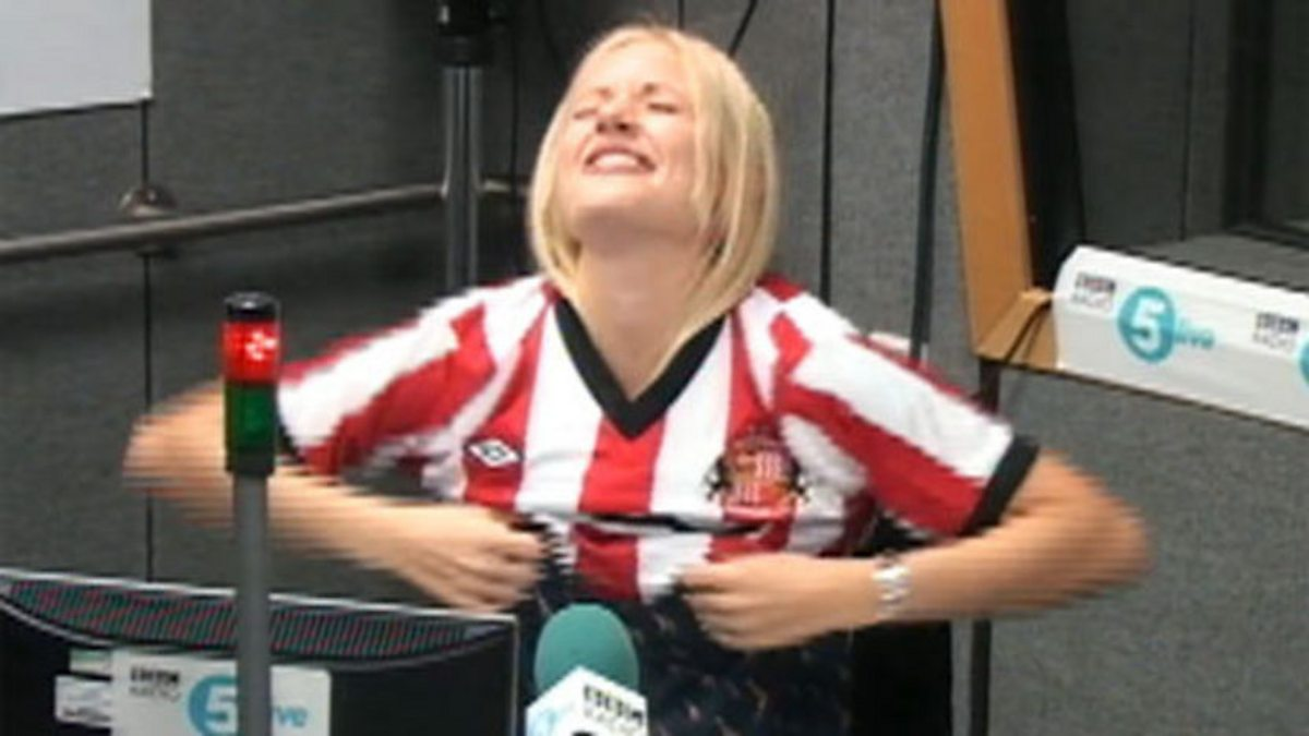 BBC One - Sport Relief, Lynsey Hipgrave's Shirt of Hurt