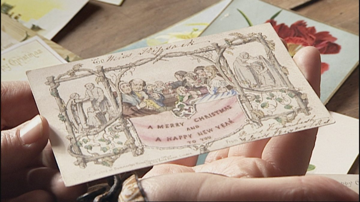 Bbc arts bbc arts the first christmas card for Who commissioned the first christmas card in 1843