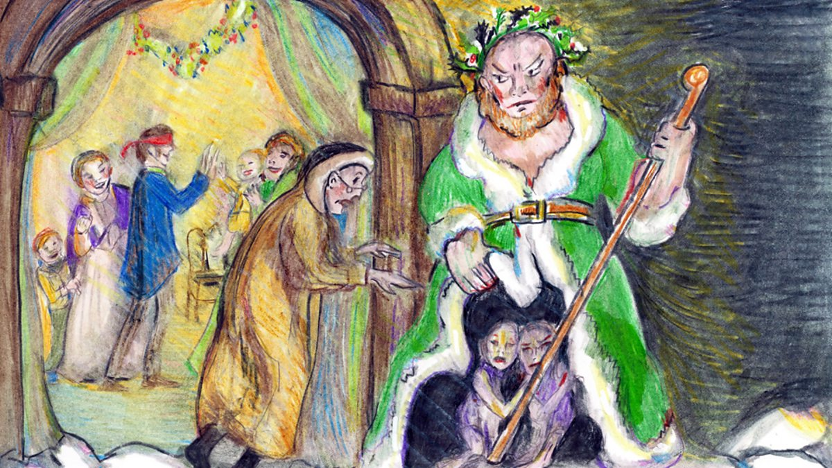 ebenezer scrooges visit by the three spirits But, frankly, come holiday, ebenezer scrooge gets a bad rap we hold his character up as the epitome of selfishness, but that's to overlook how a christmas carol ends to see scrooge as a loser is to see rocky balboa as a loser, too, instead of hanging around to see how his fight with apollo creed turned out.