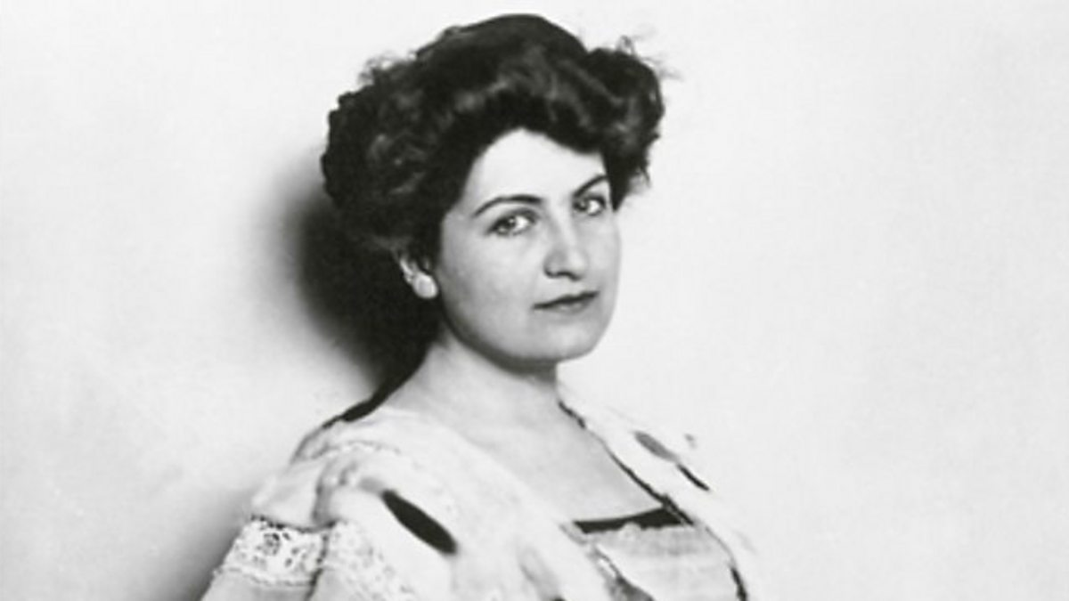 ... Composer Alma Mahler speaks to Jeremy Noble about her husband Gustav