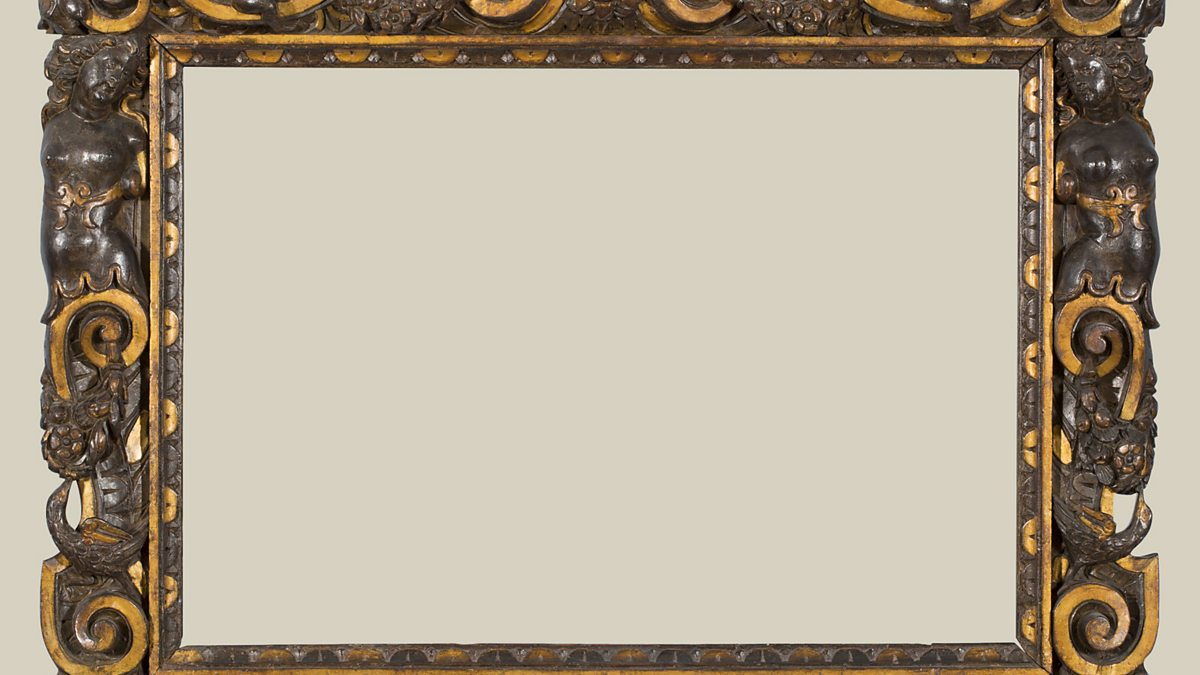 BBC Radio 3 - A carved and partially gilded Sansovino frame, 1560-80 ...
