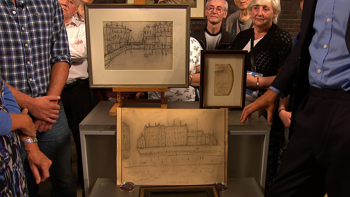 Bbc One Antiques Roadshow Series 37 Liverpool Metropolitan Cathedral 2 Ls Lowry And Picasso