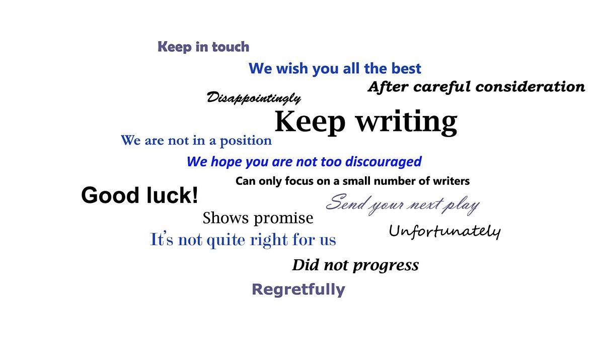 Thanks But No Thanks Letter.Bbc Blogs Bbc Writersroom Thanks But No Thanks How Writers Deal