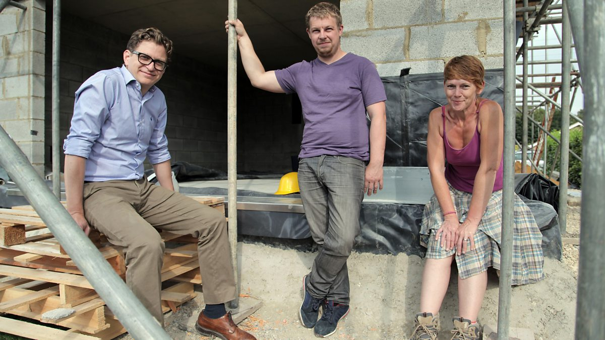 Bbc two the house that 100k built series 2 jo 39 ann and for Build a house for 100k