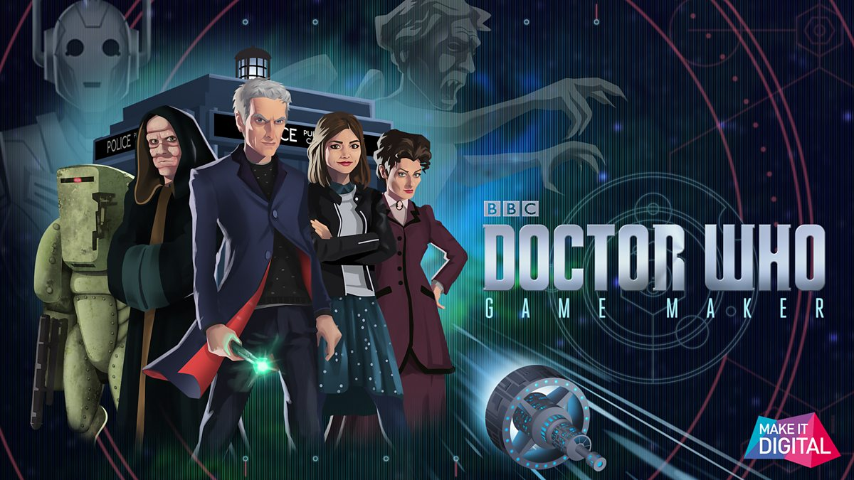 bbc one doctor who doctor who game maker