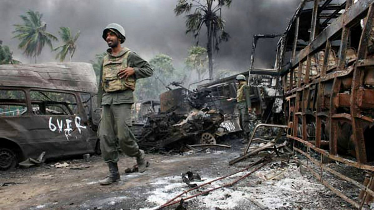 sri lanka after the war