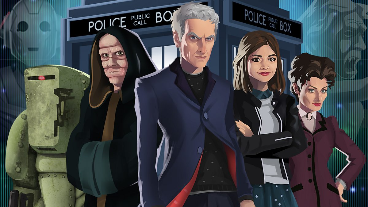 bbc one doctor who games