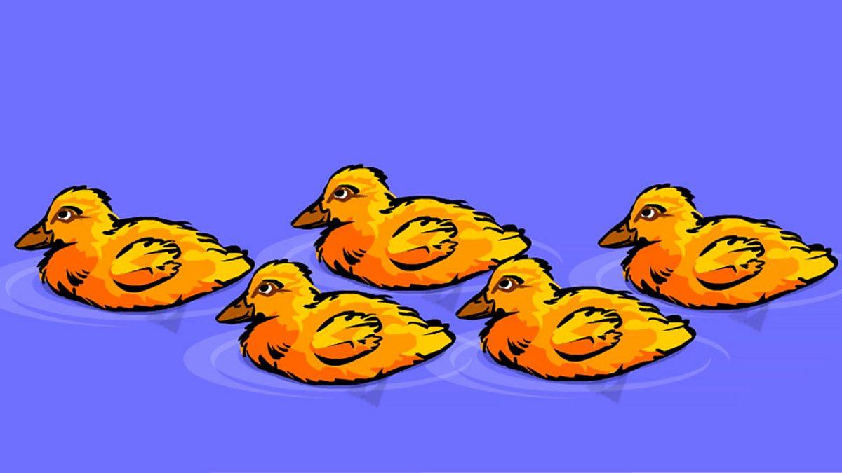 School Radio Nursery Songs And Rhymes Five Little Ducks Went