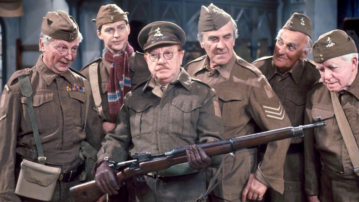 BBC Radio 4 - Funny in Four - The Rather Tricky Dad's Army ...