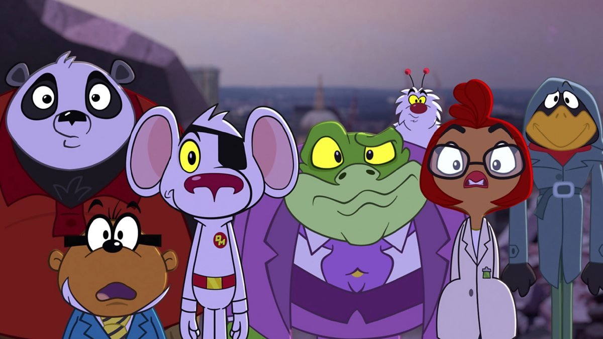 Cartoon Characters Jeopardy : Cbbc iplayer danger mouse series escape from
