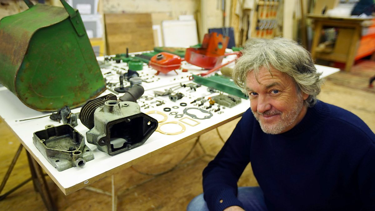 James May: The Reassembler - Series 2: 3. Mini Motorcycle
