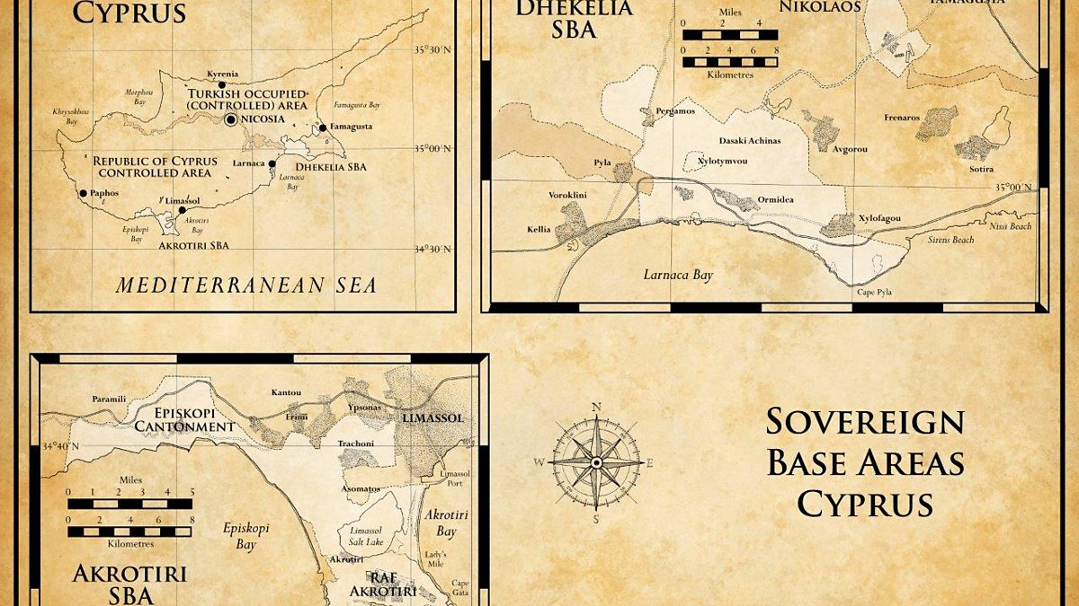 BBC Four Sovereign Base Areas Britains Treasure Islands The Maps