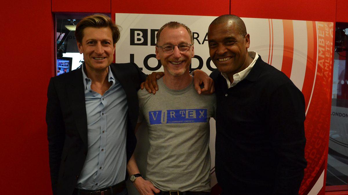 BBC Radio London - Gary Crowley, Steve Parish and Mark Bright