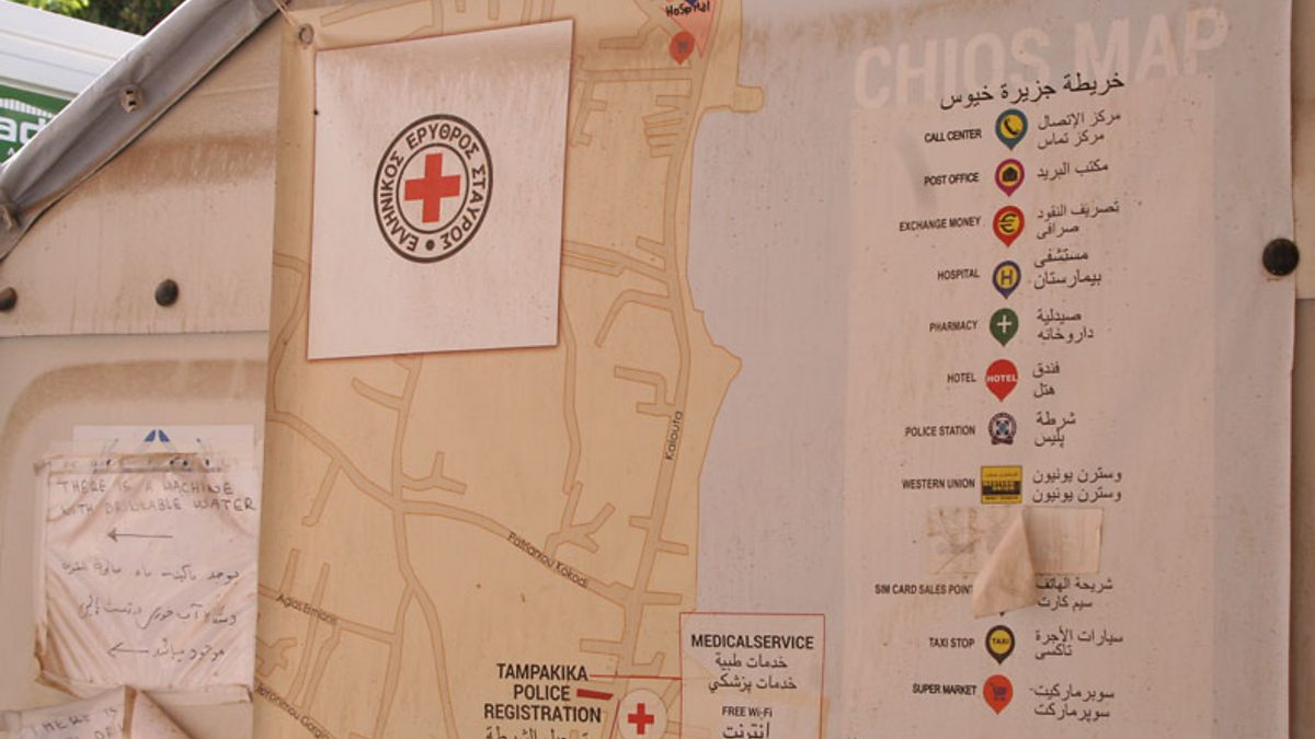BBC Souda camp map Greece Warehouse of Souls