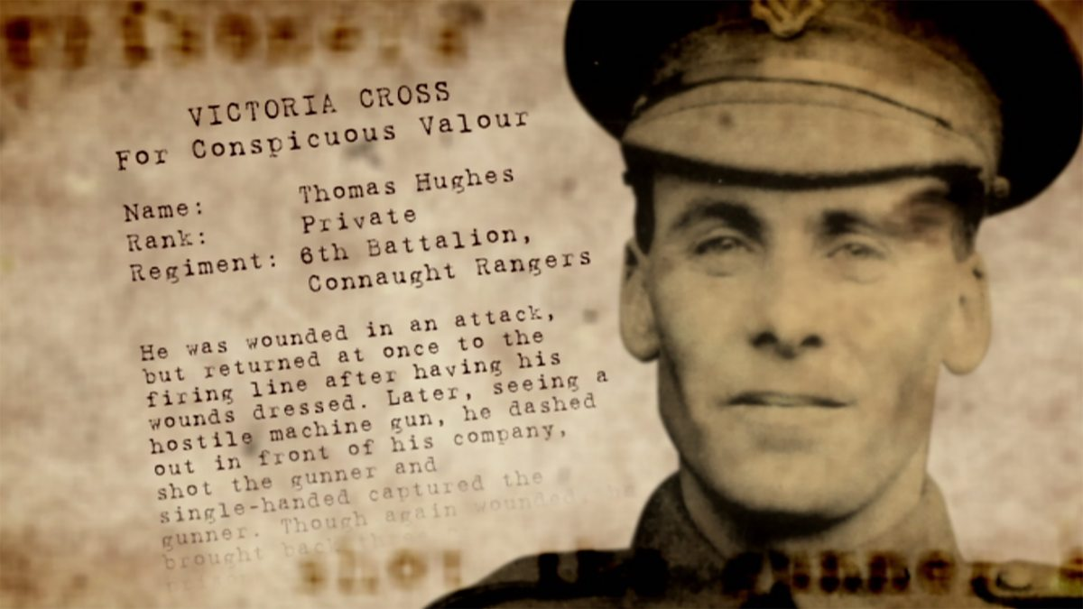 BBC One - Heroes of the Somme, Thomas Hughes VC