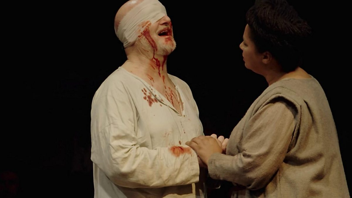 a comparison of good versus evil in the king lear play Animal imagery in king lear a common misconception during the elizabethan era is that humans are superior to animals fudge shows this by stating: where there is a fear of the collapse of difference, there is also an urgent need to reiterate human superiority (fudge 2.