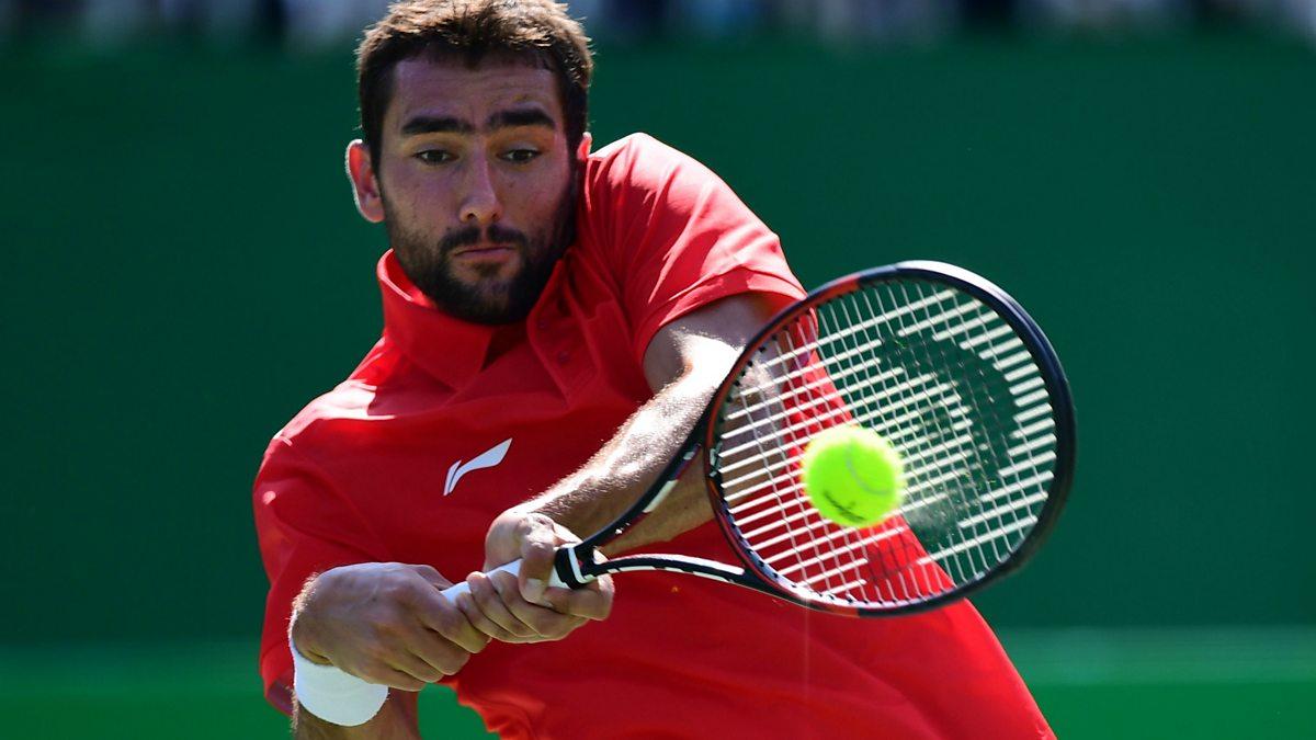 BBC Sport - Olympic Tennis, 2016, Court 1 1st Round Singles - Saturday daytime