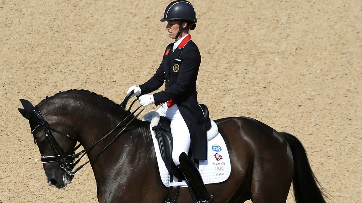 Bbc sport olympic equestrian 2016 final dressage for Charlotte dujardin