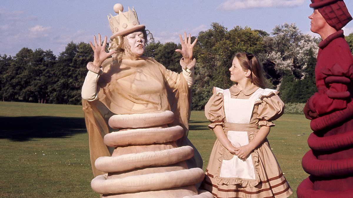 Image result for alice through the looking glass 1973 BBC